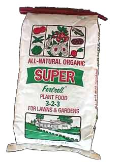 GRANULAR ORGANIC SUPER LAWN and GARDEN - 25LBS