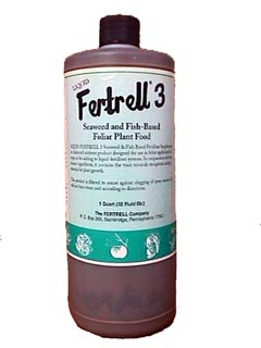 KELP AND FISH #3 FERTILIZER - QUART