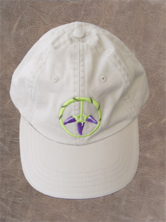PEPPERS FOR PEACE CAP PURPLE