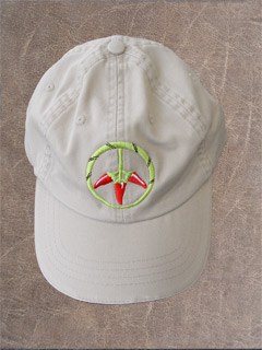 PEPPERS FOR PEACE CAP RED